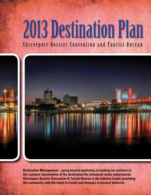 SBCTB Destination Plan 2013 - Shreveport