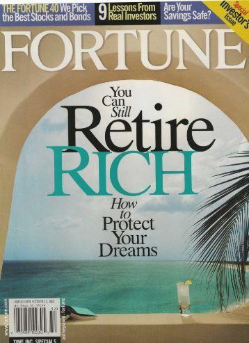 Fortune Magazine - McLaughlin Anderson Luxury Villas