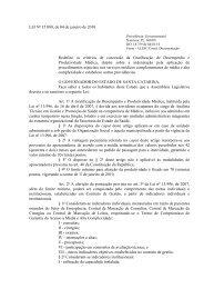 Lei que regulamenta a GDPM - Sindicato dos Médicos do Estado de ...