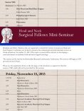 click here to see the full brochure - American Head and Neck Society - Page 7