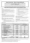 Booking form - Filers Travel - Page 2