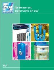 TA/1 Air treatment Tratamiento del aire