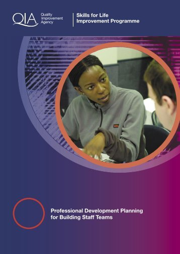 Professional Development Planning for Building Staff Teams