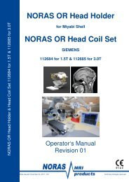 Manual 8 Ch Head Holder, Rev.1 SIEMENS - NORAS MRI products ...