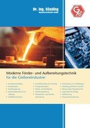 deutsch - Dr. Ing. Gössling GmbH Verfahrens- und Fördertechnik ...
