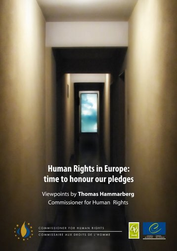 Human Rights in Europe: time to honour our pledges - 404 Page not ...