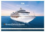 Kreuzfahrtträume - Princess Cruises