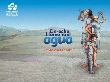 Derecho Humano al Agua. Un derecho de todos - Defensoría del ...