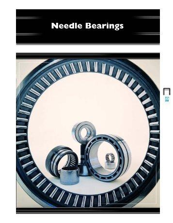 Needle Bearings - CONSOLIDATED BEARINGS COMPANY, LTD ...