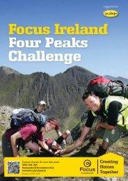 Four Peaks Booklet - Focus Ireland