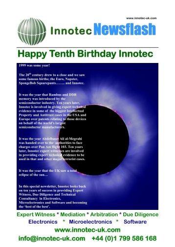Newsletter 4 - Innotec
