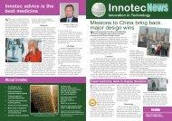 Newsletter 1 - Innotec