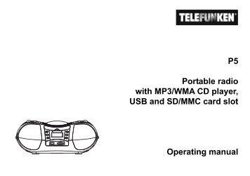 DIGITAL MUSIC PLAYER MP3&WMA USER MANUAL MP-F62