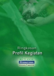 Profil WIIP 2005-2009.pdf - Wetlands International Indonesia ...