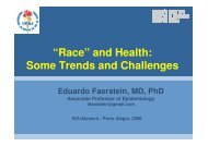 """Race"" and Health: Some Trends and Challenges - Epi2008"