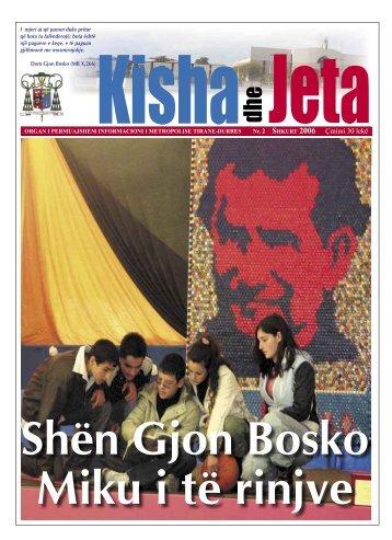 SHKURT 2006 Çmimi 30 lekë - kishadhejeta.com