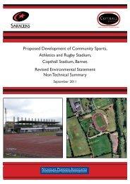 Proposed Development of Community Sports, Athletics and ... - IEMA
