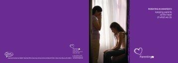 Manifesto Cover - Parents NI