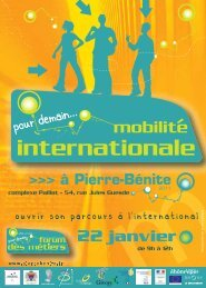 Mobilité internationale - centre ressources information jeunesse ...