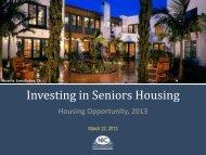 Investing in Seniors Housing - Archive - ULI