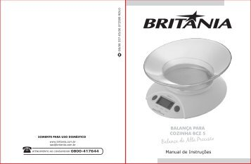 357 05 00 Rev0 Folheto de Instruções Balança BCZ5.cdr - Britânia