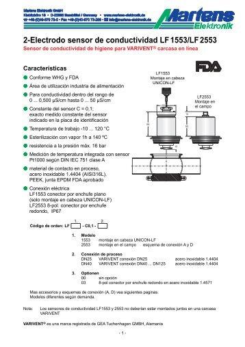 LFX553-00- Prospekt - Martens Elektronik GmbH