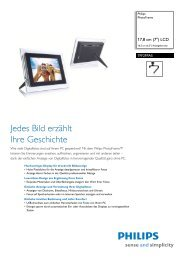 Leaflet 7FF2FPAS 00 Released Germany (German) High ... - Philips