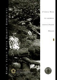 A Technical Manual for Landowners, Loggers, and ... - Forestry