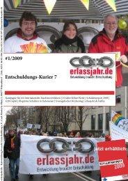 #1/2009 Entschuldungs-Kurier 7 - Erlassjahr.de