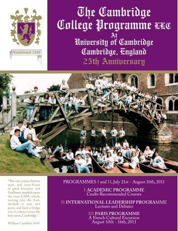 The Cambridge College Programme LLC - Mu Alpha Theta