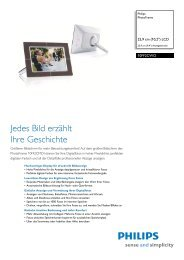 Leaflet 10FF2CWO 00 Released Germany (German) High ... - Philips