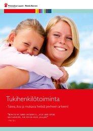 Tukihenkilötoiminta -raportti - Pelastakaa Lapset ry
