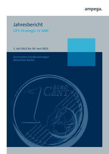 Jahresbericht - Ampega Investment AG