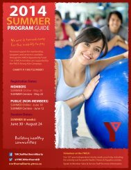 YMCA Summer Programs Guide 2014