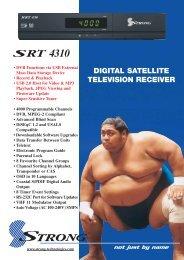 SRT 4310 Brochure - Strong Technologies