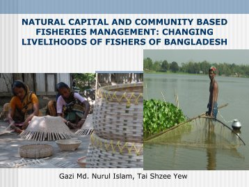 The Impact of Community Based Institutions on ... - Seafdec