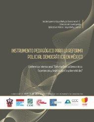Instrumento pedagógico para la reforma policial ... - Insyde