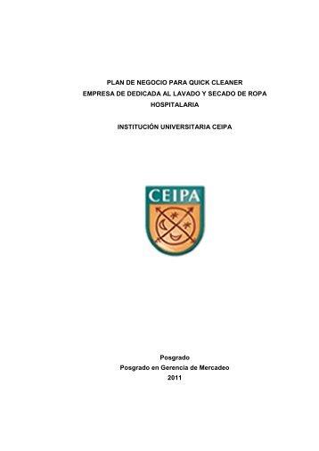 plan de negocio para quick cleaner - Institución Universitaria Ceipa