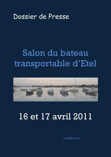 Salon du bateau transportable d'Etel 16 et 17 avril 2011 - CAP Breizh