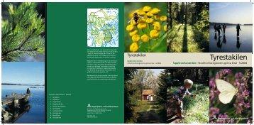 2004:6 Upplevelsevärden Tyrestakilen - SLL Tillväxt, miljö och ...