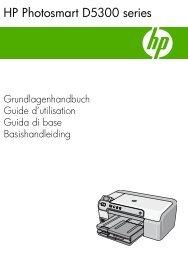 1 Overzicht HP Photosmart - Hewlett Packard