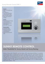 Sunny Remote Control SRC-1 - Energy Changes
