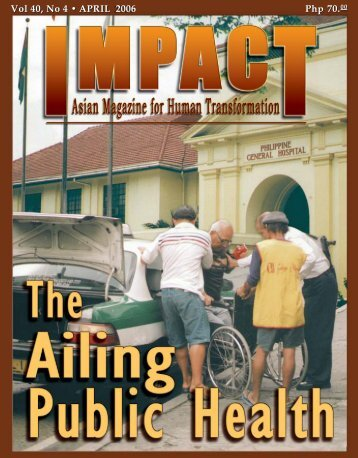 april 2006 april 2006 - IMPACT Magazine Online!