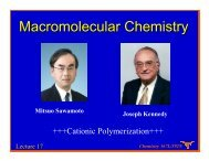 Lecture 17 - Willson Research Group
