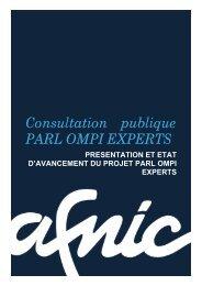 Consultation publique PARL OMPI EXPERTS - Afnic