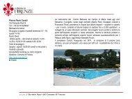 piscina costoli - Comune di Firenze