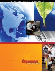 Brochure from Copesan - Specialists in Pest Solutions - NFMT