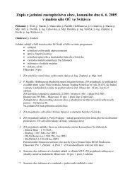 Zápis z jednání zastupitelstva obce, konaného dne 6. 6 ... - Svitávka