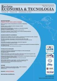 ECONOMIA & TECNOLOGIA Volume 08 Número 02 Abril/Junho de ...