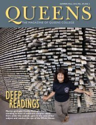 THE MAGAZINE OF QUEENS COLLEGE - Queens College - CUNY